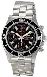 ブライトリング 時計 Breitling Mens A1334102/BA81SS Superocean Chronograph II Black Dial Watch<img class='new_mark_img2' src='https://img.shop-pro.jp/img/new/icons2.gif' style='border:none;display:inline;margin:0px;padding:0px;width:auto;' />