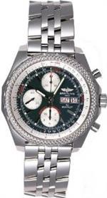 <img class='new_mark_img1' src='https://img.shop-pro.jp/img/new/icons25.gif' style='border:none;display:inline;margin:0px;padding:0px;width:auto;' />ブライトリング 時計 Custom Breitling for Bentley - GT A13362 Diamond Bezel Watch