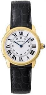 カルティエ 時計 Cartier Ronde Solo Ladies Gold amp Steel Watch W6700355