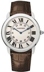 カルティエ 時計 Cartier Ronde Solo Mens Steel Watch W6700255