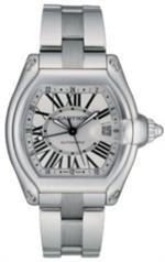 カルティエ 時計 Cartier Mens W62032X6 Roadster GMT Automatic Watch