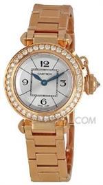 カルティエ 時計 Cartier Miss Pasha Diamond Paved 18k Rose Gold Ladies Watch WJ124013<img class='new_mark_img2' src='https://img.shop-pro.jp/img/new/icons40.gif' style='border:none;display:inline;margin:0px;padding:0px;width:auto;' />