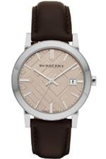 <img class='new_mark_img1' src='https://img.shop-pro.jp/img/new/icons2.gif' style='border:none;display:inline;margin:0px;padding:0px;width:auto;' />バーバリー 時計 Burberry City Dark Brown Watch BU9011