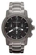 バーバリー 時計 Burberry BU9801 Watch Endurance Mens - Black Dial Stainless Steel Case Quartz<img class='new_mark_img2' src='https://img.shop-pro.jp/img/new/icons15.gif' style='border:none;display:inline;margin:0px;padding:0px;width:auto;' />