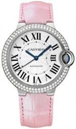 カルティエ 時計 Cartier Ballon Bleu de Cartier 18k White Gold Medium Watch WE900651