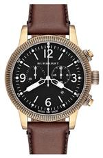 バーバリー 時計 Burberry BU7819 Mens Brown Leather Strap Black Dial Chronograph Watch<img class='new_mark_img2' src='https://img.shop-pro.jp/img/new/icons22.gif' style='border:none;display:inline;margin:0px;padding:0px;width:auto;' />