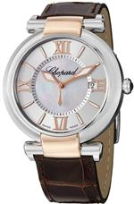 ショパール 時計 Chopard Imperiale Mens Two Tone Brown Leather Strap Automatic Watch 388531-6001 LBR<img class='new_mark_img2' src='https://img.shop-pro.jp/img/new/icons13.gif' style='border:none;display:inline;margin:0px;padding:0px;width:auto;' />