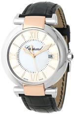 ショパール 時計 Chopard Womens 388531-6001_LBK Imperiale Black Leather Strap Watch