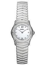 エベル 時計 Ebel Classic Wave Womens Quartz Watch 9157F19-971025