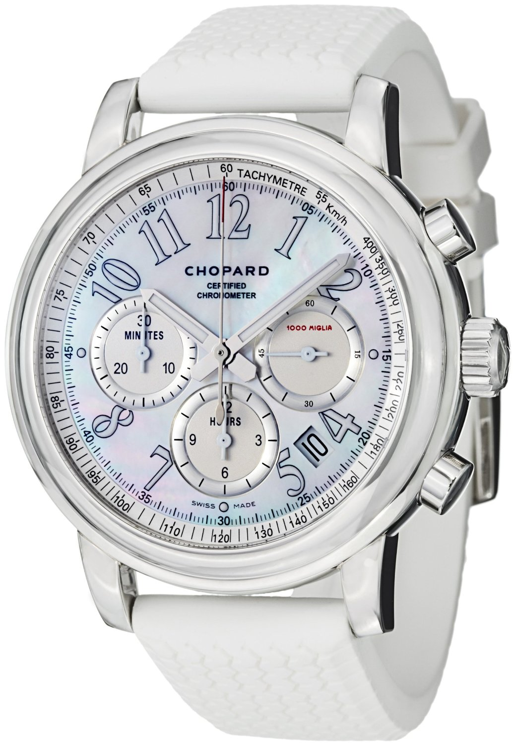 watch 69a04 34095 ショパール 時計 Chopard 1000 Miglia Mens Mother-of-Pearl Dial Automatic  Chronograph Watch - 輸入時計専門店 ショップ タイムズ 通販