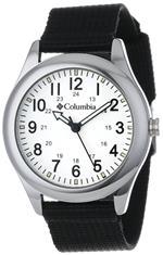 コロンビア 時計 Columbia Unisex CA016001 Field Fox Black Canvas Watch