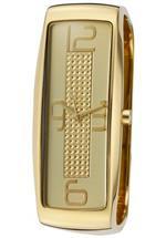 ドルチェガッバーナ 時計 Dolce amp Gabbana Time DW0234 Womens Analog Gold-Tone Stones Bracelet Style
