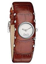 ドルチェガッバーナ 時計 Womens Cottage Silver Dial Light Brown Leather