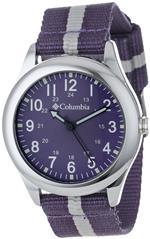 コロンビア 時計 Columbia Unisex CA016510 Field Fox Purple Canvas Watch