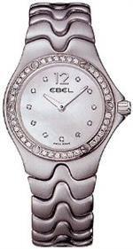 エベル 時計 Ebel Sportwave Womens Mother-of-Pearl Diamond Dial Diamond Bezel Stainless Steel Watch<img class='new_mark_img2' src='https://img.shop-pro.jp/img/new/icons26.gif' style='border:none;display:inline;margin:0px;padding:0px;width:auto;' />