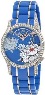 エドハーディー 時計 Ed Hardy Womens JA-BL Jasmine Blue Watch