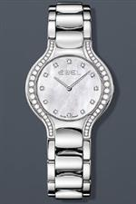 エベル 時計 Ebel Beluga Lady Diamond Pearl 30.5 mm Watch - Mother of Pearl Dial Stainless Steel