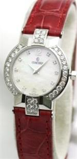 コンコルド 時計 Concord La Scala Diamond Markers Diamond Bezel Womens Watch