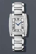 エベル 時計 Ebel Brasilia Mini Diamond Roman 23.7 mm Watch - Silver Dial Stainless Steel Bracelet