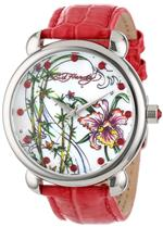 エドハーディー 時計 Ed Hardy Womens GN-PK Garden Pink Watch<img class='new_mark_img2' src='https://img.shop-pro.jp/img/new/icons20.gif' style='border:none;display:inline;margin:0px;padding:0px;width:auto;' />