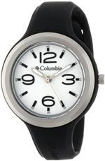 コロンビア 時計 Columbia Womens CT005005 The Escapade Classic Analog with Black Silicone Strap Watch