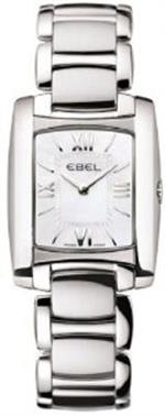 エベル 時計 Ebel Brasilia Mini Pearl 24mm Watch - Mother of Pearl Dial Stainless Steel Bracelet