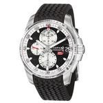 ショパール 時計 Chopard Mens 168459-3037 Miglia Grand Trismo Black Chronograph Dilal Watch