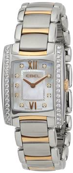 エベル 時計 EBEL Womens 1215922 Brasilia Analog Display Swiss Quartz Two Tone Watch