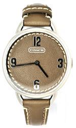 コーチ 時計 Coach Women Brown Leather Strap Watch 14501681<img class='new_mark_img2' src='https://img.shop-pro.jp/img/new/icons23.gif' style='border:none;display:inline;margin:0px;padding:0px;width:auto;' />