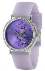 エドハーディー 時計 Ed Hardy Love Bird Purple Womens Watch