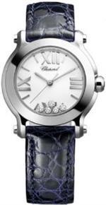 <img class='new_mark_img1' src='https://img.shop-pro.jp/img/new/icons20.gif' style='border:none;display:inline;margin:0px;padding:0px;width:auto;' />ショパール 時計 Chopard Happy Sport Mini Ladies Diamond Watch - 278509-3001