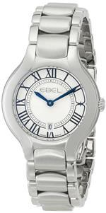 エベル 時計 EBEL Womens 1216037 Beluga Analog Display Swiss Quartz Silver Watch
