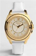コーチ 時計 Coach Boyfriend Gold Logo Signature Large Watch 14501288