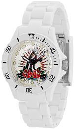 エドハーディー 時計 Ed Hardy Unisex VIP VP2-WH White Plastic Quartz Watch with White Dial<img class='new_mark_img2' src='https://img.shop-pro.jp/img/new/icons24.gif' style='border:none;display:inline;margin:0px;padding:0px;width:auto;' />