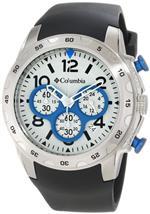 コロンビア 時計 Columbia Unisex CA004045 Transit Black and Silver-Tone Analog Watch