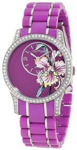 <img class='new_mark_img1' src='https://img.shop-pro.jp/img/new/icons35.gif' style='border:none;display:inline;margin:0px;padding:0px;width:auto;' />エドハーディー 時計 Ed Hardy Womens JA-PU Jasmine Purple Watch
