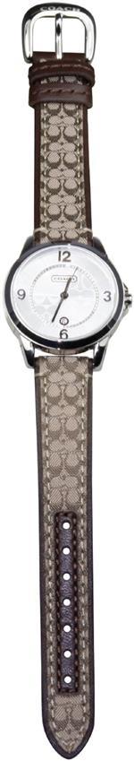 コーチ 時計 Coach Signature Womens Small Strap Silver Wrist Watch Brown<img class='new_mark_img2' src='https://img.shop-pro.jp/img/new/icons16.gif' style='border:none;display:inline;margin:0px;padding:0px;width:auto;' />