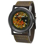 エドハーディー 時計 Ed Hardy Mens KM-DR Kombat Yellow Watch