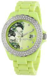 <img class='new_mark_img1' src='https://img.shop-pro.jp/img/new/icons15.gif' style='border:none;display:inline;margin:0px;padding:0px;width:auto;' />エドハーディー 時計 Ed Hardy Womens RX-LG Roxxy Light Green Watch