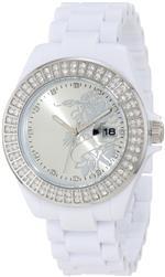 エドハーディー 時計 Ed Hardy Womens JO-RS Jolie White Watch<img class='new_mark_img2' src='https://img.shop-pro.jp/img/new/icons2.gif' style='border:none;display:inline;margin:0px;padding:0px;width:auto;' />