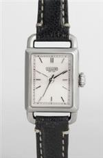 コーチ 時計 Coach Womens Hamptons Black Strap Watch #14501256