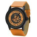 エドハーディー 時計 Ed Hardy Womens PK-OR Punked Orange Watch