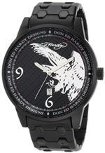 エドハーディー 時計 Ed Hardy mens ST2-BK Stellar II Black Watch
