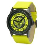 エドハーディー 時計 Ed Hardy Womens PK-YW Punked Yellow Watch<img class='new_mark_img2' src='https://img.shop-pro.jp/img/new/icons3.gif' style='border:none;display:inline;margin:0px;padding:0px;width:auto;' />