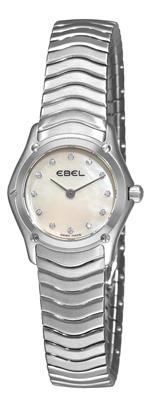 エベル 時計 Ebel Womens 9003F11/9925 Classic Mother-Of-Pearl Dial Diamond Watch