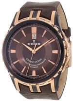 エドックス 時計 Edox Mens 80077 357BRR BRIR Grand Ocean Automatic Watch