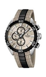 フェスティナ 時計 Mens Watch Festina F16664/2 Rubber Band Grey Dial