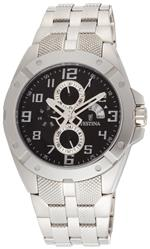 フェスティナ 時計 Festina Mens F16388/5 Multi-Function Stainless Steel Polished And Matte Finish