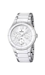 フェスティナ 時計 Festina Mens Quartz Watch with White Dial Analogue Display and White Stainless<img class='new_mark_img2' src='https://img.shop-pro.jp/img/new/icons10.gif' style='border:none;display:inline;margin:0px;padding:0px;width:auto;' />