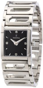 フェスティナ 時計 Festina Womens Dame F16551/4 Silver Stainless-Steel Quartz Watch with